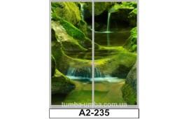 Фотопечать А2-235 для шкафа-купе на две двери. Природа
