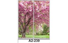 Фотопечать А2-239 для шкафа-купе на две двери. Природа