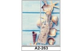 Фотопечать А2-263 для шкафа-купе на две двери. Море