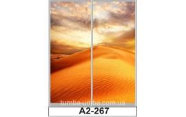 Фотопечать А2-267 для шкафа-купе на две двери. Закат