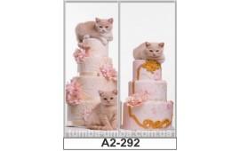 Фотопечать А2-292 для шкафа-купе на две двери. Котята