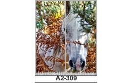 Фотопечать А2-309 для шкафа-купе на две двери. Лошадь