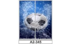 Фотопечать А2-345 для шкафа-купе на две двери. Футбол