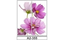 Фотопечать А2-355 для шкафа-купе на две двери. Цветы