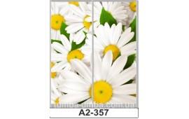 Фотопечать А2-357 для шкафа-купе на две двери. Цветы
