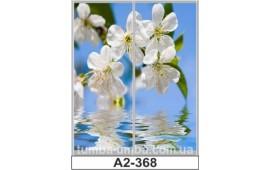Фотопечать А2-368 для шкафа-купе на две двери. Цветы