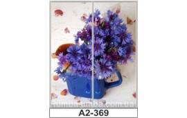 Фотопечать А2-369 для шкафа-купе на две двери. Цветы