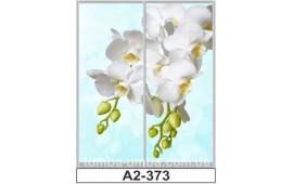 Фотопечать А2-373 для шкафа-купе на две двери. Цветы