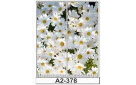 Фотопечать А2-378 для шкафа-купе на две двери. Цветы
