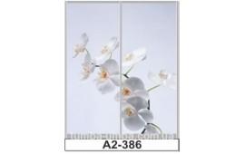 Фотопечать А2-386 для шкафа-купе на две двери. Цветы