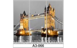Фотопечать А3-066 для шкафа-купе на три двери. Лондон