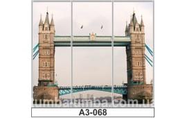 Фотопечать А3-068 для шкафа-купе на три двери. Лондон