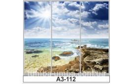 Фотопечать А3-112 для шкафа-купе на три двери. Море