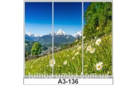 Фотопечать А3-136 для шкафа-купе на три двери. Природа