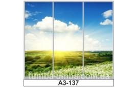 Фотопечать А3-137 для шкафа-купе на три двери. Природа