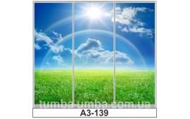 Фотопечать А3-139 для шкафа-купе на три двери. Природа