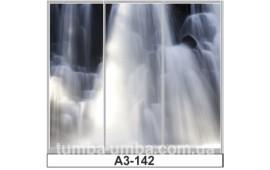 Фотопечать А3-142 для шкафа-купе на три двери. Водопад