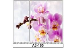 Фотопечать А3-165 для шкафа-купе на три двери. Цветы