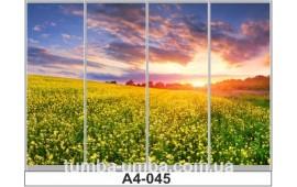 Фотопечать А4-045 для шкафа-купе на четыре двери. Природа