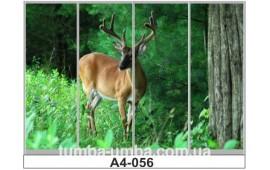 Фотопечать А4-056 для шкафа-купе на четыре двери. Олень