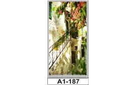Фотопечать А1-187 для шкафа-купе на одну дверь. Старинная улочка
