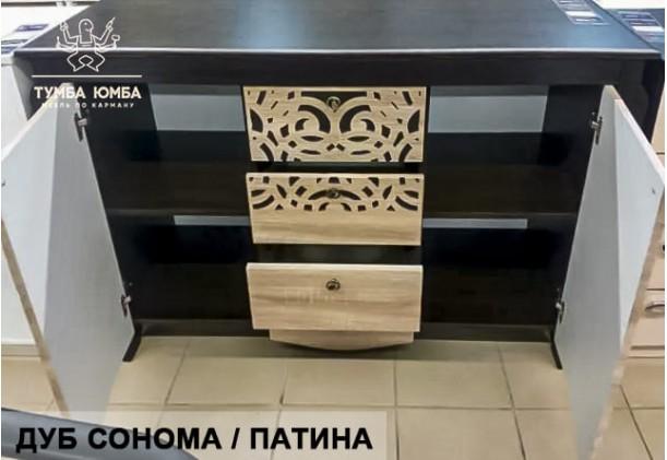 Комод Гефест большой с дверцами и ящиками МФ
