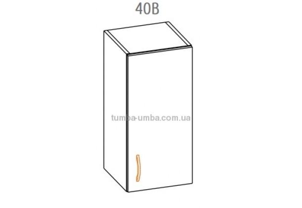 """Фото-схема кухонной тумбы Алина """"Верх 40В"""" Мебель-Сервис дешево от производителя с доставкой по всей Украине"""