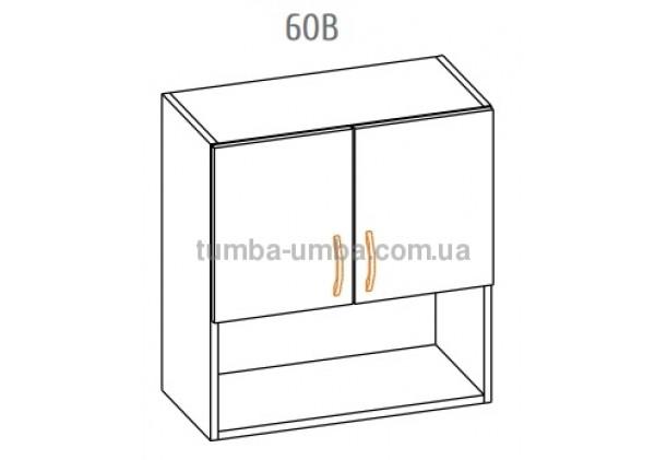 """Фото-схема тумбы Алина """"Верх 60В"""" Мебель-Сервис дешево от производителя с доставкой по всей Украине"""