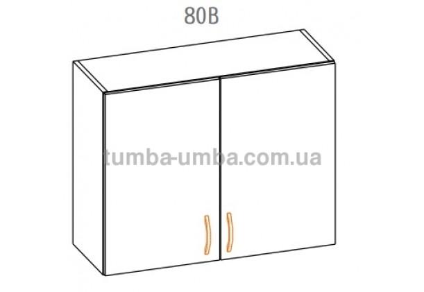 """Фото-схема тумбы Алина """"Верх 80В"""" Мебель-Сервис дешево от производителя с доставкой по всей Украине"""
