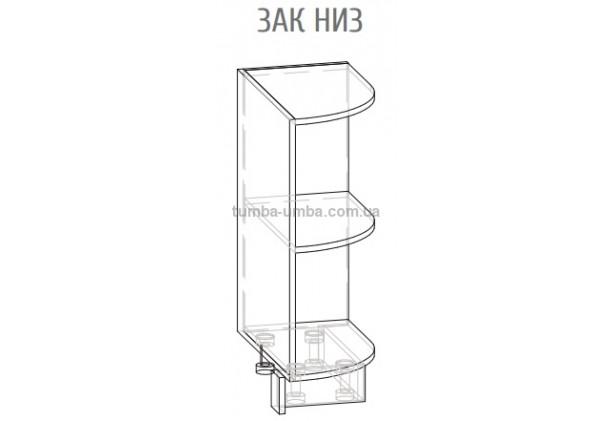 Фото-схема Угловое Окончание Низ Мебель-Сервис дешево от производителя с доставкой по всей Украине