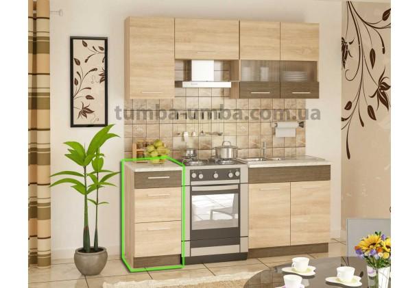 Кухонный шкаф-стол с ящиками Грета 40Н3Ш 40 см