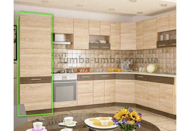 Кухонный Пенал Грета 3Д 60 см