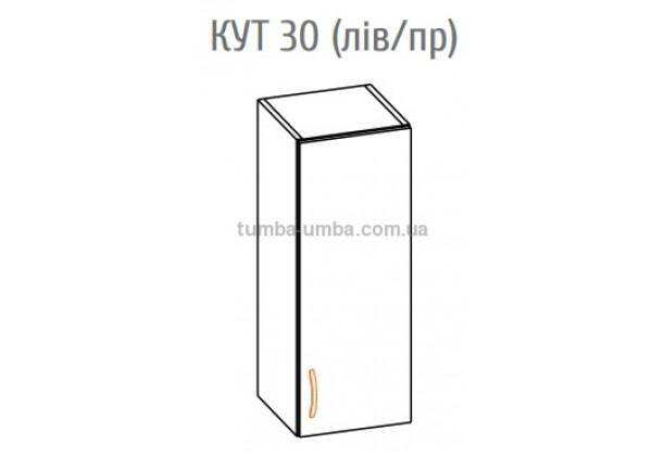 Фото-схема тумбы Оля-МС Верх 30 Мебель-Сервис дешево от производителя с доставкой по всей Украине