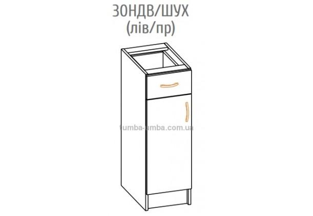 Фото-схема тумбы Оля-МС Низ 30НДВ Мебель-Сервис дешево от производителя с доставкой по всей Украине