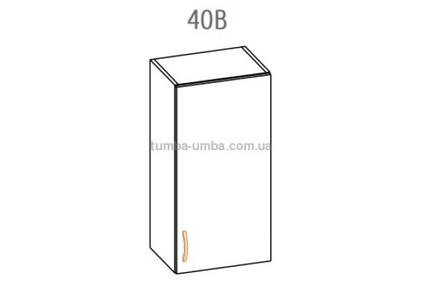 Фото-схема тумбы Оля-МС Верх 40 Мебель-Сервис дешево от производителя с доставкой по всей Украине