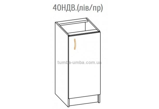 Фото-схема тумбы Оля-МС Низ 40 Мебель-Сервис дешево от производителя с доставкой по всей Украине