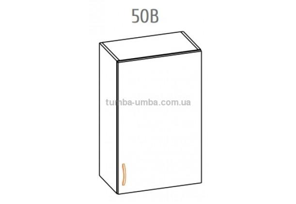 Фото-схема тумбы Оля-МС Верх 50 Мебель-Сервис дешево от производителя с доставкой по всей Украине