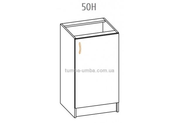 Фото-схема тумбы Оля-МС Низ 50 Мебель-Сервис дешево от производителя с доставкой по всей Украине