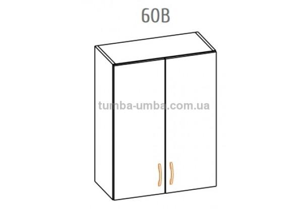 Фото-схема тумбы Оля-МС Верх 60 Мебель-Сервис дешево от производителя с доставкой по всей Украине