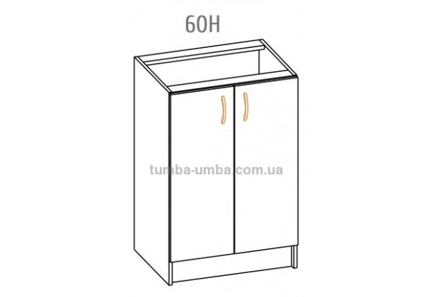 Фото-схема тумбы Оля-МС Низ 60 Мебель-Сервис дешево от производителя с доставкой по всей Украине