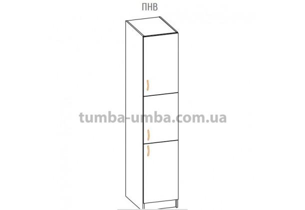 Фото-схема тумбы Оля-МС Пенал большой Мебель-Сервис дешево от производителя с доставкой по всей Украине