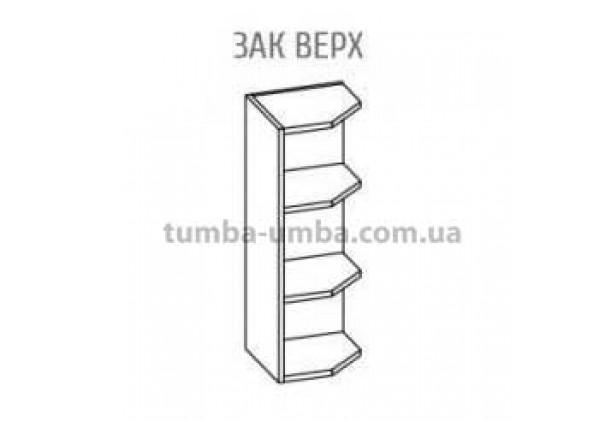 Фото-схема тумбы Оля-МС Окончание Верх Мебель-Сервис дешево от производителя с доставкой по всей Украине