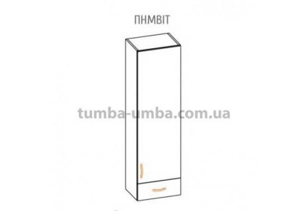 Фото-схема тумбы Оля-МС Пенал маленький Мебель-Сервис дешево от производителя с доставкой по всей Украине