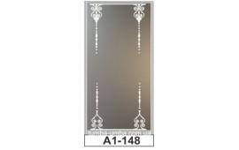 Пескоструйный рисунок А1-148 на одну дверь шкафа-купе. Узор