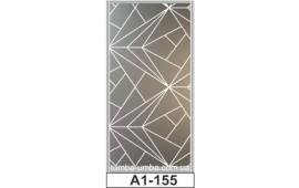 Пескоструйный рисунок А1-155 на одну дверь шкафа-купе. Узор
