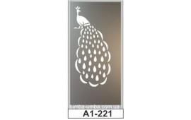 Пескоструйный рисунок А1-221 на одну дверь шкафа-купе. Детское