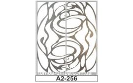 Пескоструйный рисунок А2-256 на две двери шкафа-купе. Узор