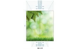 Фотопечать 2Д-110 для шкафа-купе на две двери. Природа