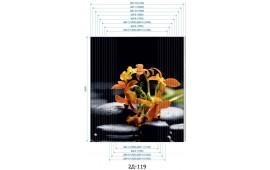 Фотопечать 2Д-119 для шкафа-купе на две двери. Цветы