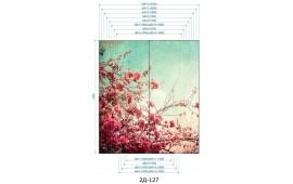 Фотопечать 2Д-127 для шкафа-купе на две двери. Цветы